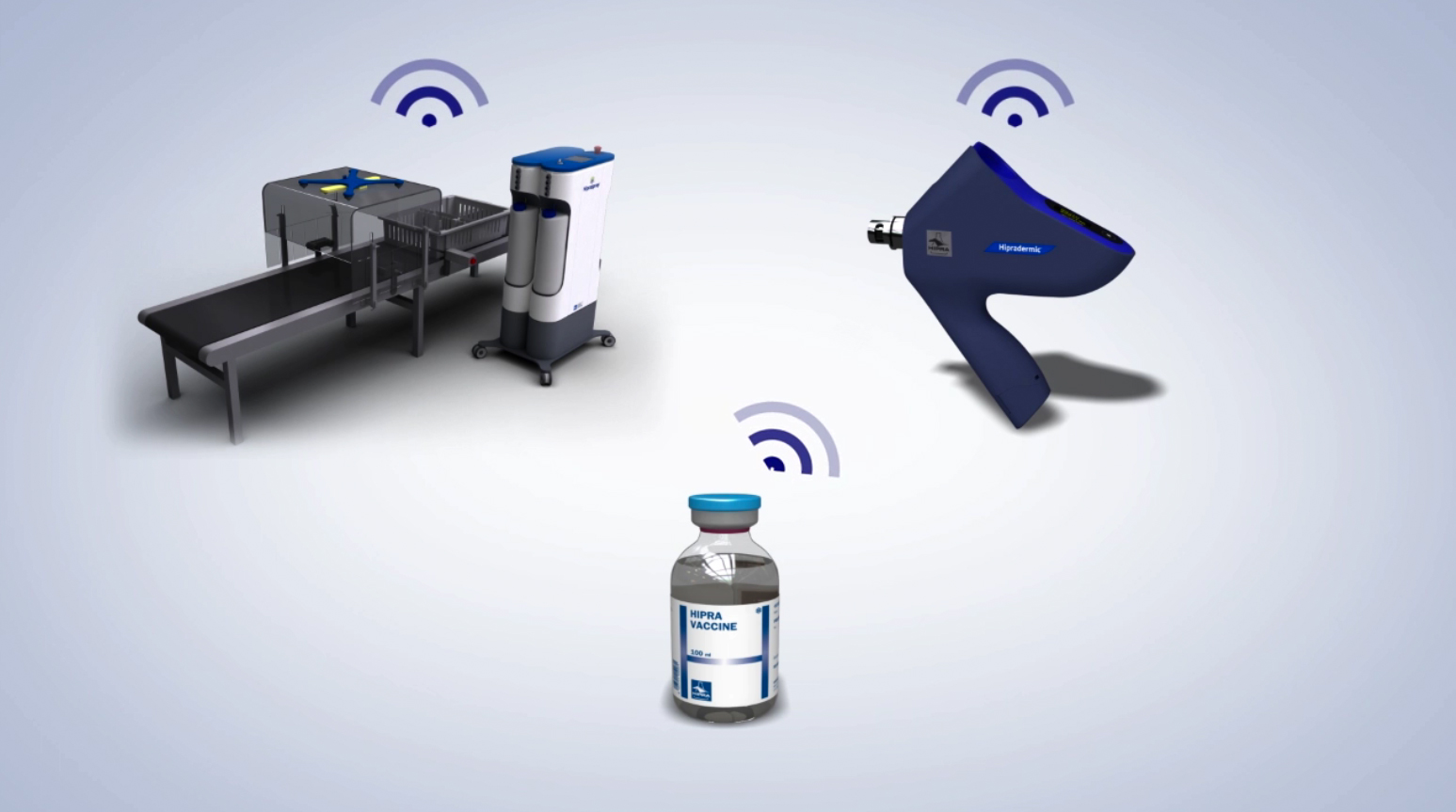 smart vaccination tools explanation for poultry farm industry