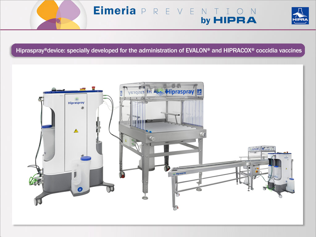 hipraspray machine for poultry farms