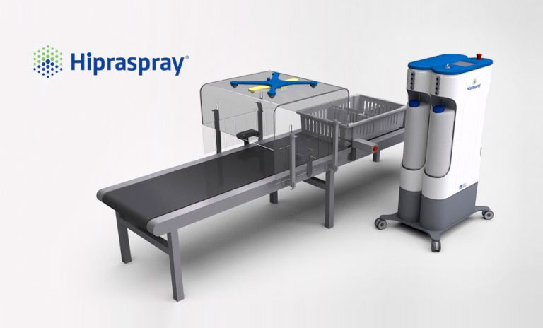 Hipraspray® is a ground-breaking device for the application of a coccidiosis vaccine for chickens, Poultry